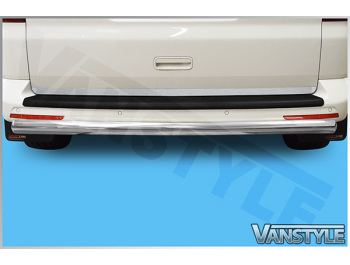70mm Profiled Rear Protection Guard Bar VW T5 / T6