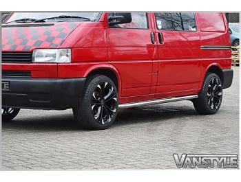 Vanstyle 60mm Sportline Style Side Bars VW T4