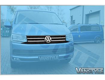 Genuine VW T6 Transporter Upgrade Front Caravelle Grille