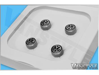 Volkswagen Original Valve Caps For Rubber/Metal Valves