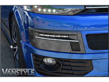 DRL Kit Carbon Dipped VW T5 Transporter 2010-15