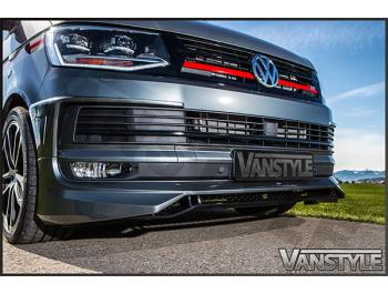 ABT Lower Front Lip Spoiler VW T6 2015 - Vanstyle