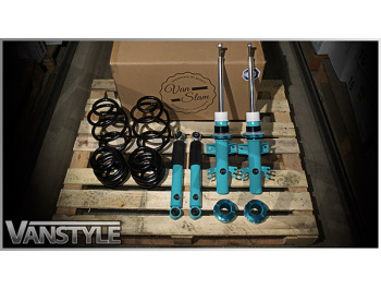 5Forty VanSlam Adjustable Coilovers VW T5 T6