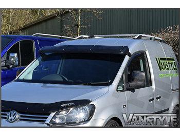 Black Acrylic High Impact Sun Visor - VW Caddy & Maxi