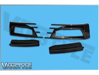 VW T6 2015> Sportline Genuine VW OE Front Lower Splitter Spoiler