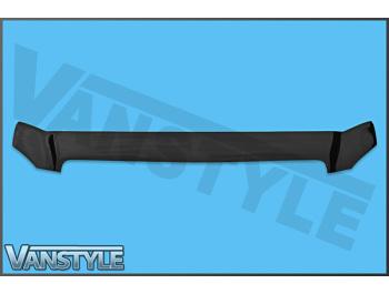 Mercedes Vito W639 2003-14 Black Bonnet Wind Deflector