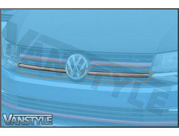 Carbon Fibre Front Lower Grille Trim VW T6