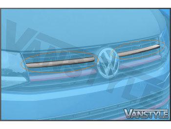 Carbon Fibre Front Upper Grille Trim VW T6