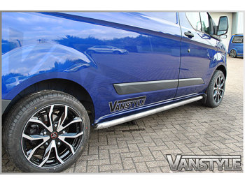 Side Bars Sportline Style 60mm Ford Transit Custom