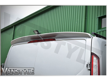Spoiler Rear Twin Door PU-Rim VS Ford Transit Custom
