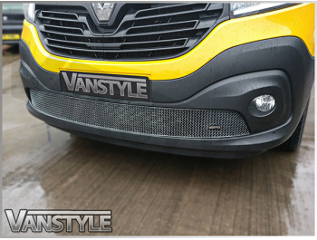 Zunsport Stainless Steel Lower Radiator Grille - Trafic & NV300