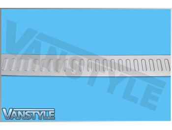 S.Steel Brushed Rear Bumper Protector Vivaro Trafic Primastar