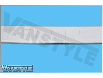 Stainless Steel Brushed Rear Bumper Protector VW T4 1990-2003
