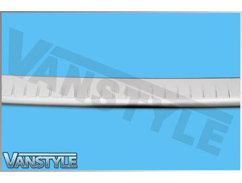 Stainless Steel Brushed Rear Bumper Protector VW T5 03-15