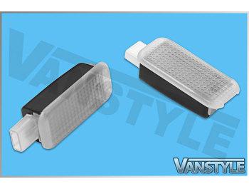 LED Footwell Lights Wiring Loom - VW T5 T6 - Vanstyle on