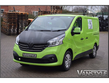 Renault Trafic 2014> Full Length Carbon Effect Bonnet Bra