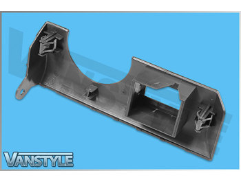 Genuine VW T5 Headlight / Fog Switch Surround Dash Trim