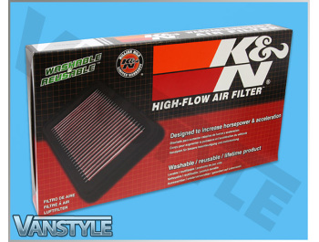 K&N Replacement Air Filter - VW Caddy 04-15 & 15>