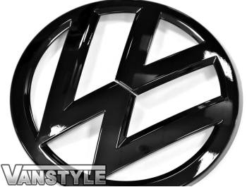 VW T6 Replacement Front Badge Gloss Black