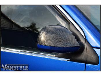 Mirror Cover Carbon Fibre Effect VW T6 2015>