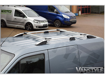 Ford Connect Low Roof 03-14 Silver Roof + Cross Bars
