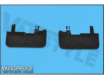 Mud Flaps, Complete Set of 4, Front & Rear T6 T6.1 Tailgate 15>