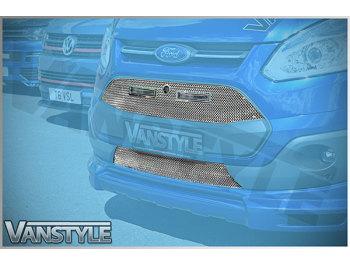 Vanstyle Sport Transit Custom DRL Front Upper + Lower Grille
