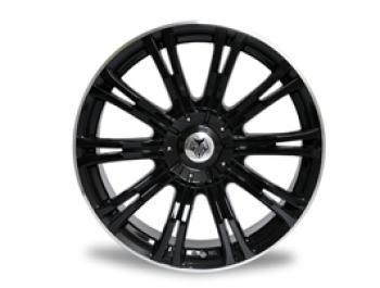 """Wolfrace Vermont Sport Black 20"""" VW Amarok Wheel & Tyre"""