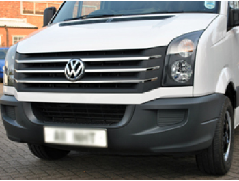 VW Crafter Stainless Steel Front Grille (Set of 5) 2012-2016