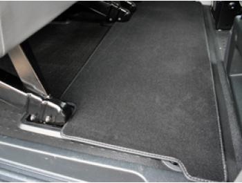 VW T5 03-15 & T6 15>19 Rear Carpet Mat Twin Sliding Rear Door