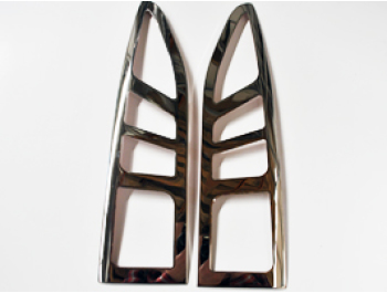 Stainless Steel Rear Light Rims Berlingo Partner Tepee 08>
