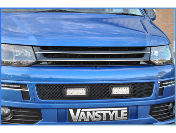 VW T5 10-15 \'Sportline\' Black Badgeless ABS Front Grille