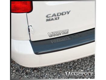 VW Caddy & Maxi ABS Rear Bumper Protector 04-10 & 10-15