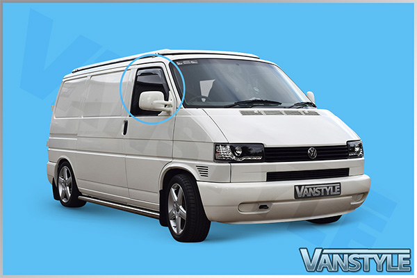 Side Wind Deflectors (Front) VW Transporter T4
