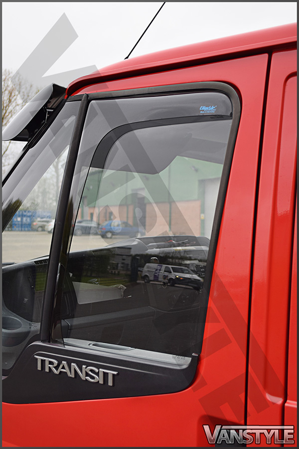 Side Window Deflectors Ford Transit 3 2000 Vanstyle