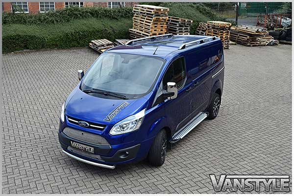 Ford Transit Custom Chrome Abs Mirror Covers 2012 Vanstyle