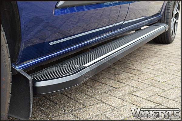 Side Step Mercedes Vito Aluminium Running Boards Vanstyle