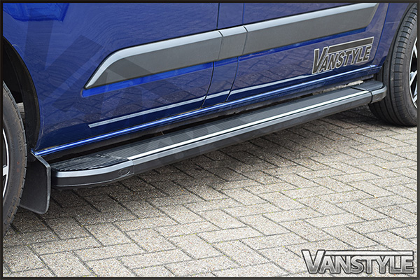 Side Step Running Board Aluminium Ford Transit Custom 2012>