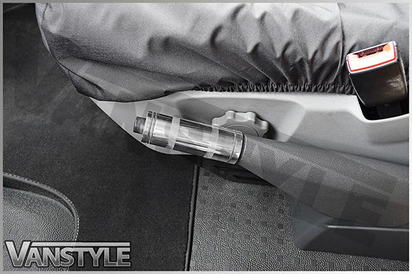 VW T5 03-15 Handbrake Lever Polished Aluminium