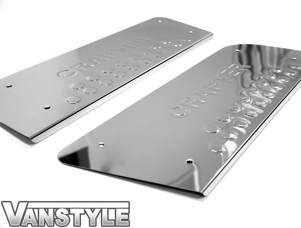 Door Entry Sill Protector Set - VW Crafter 06-11