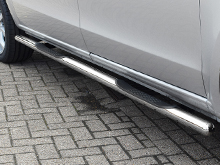 Side Bars 60mm (With Steps) Vanstyle Polished Stainless Steel