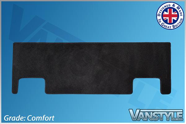 Ford Transit Custom 2012> Rear Carpet Mat Twin Sliding Door
