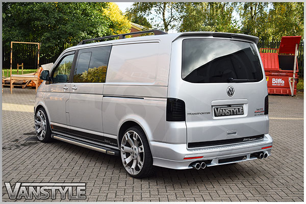 abt quad pipe exhaust 76mm vw t5 t6 4motion vehicles vanstyle. Black Bedroom Furniture Sets. Home Design Ideas