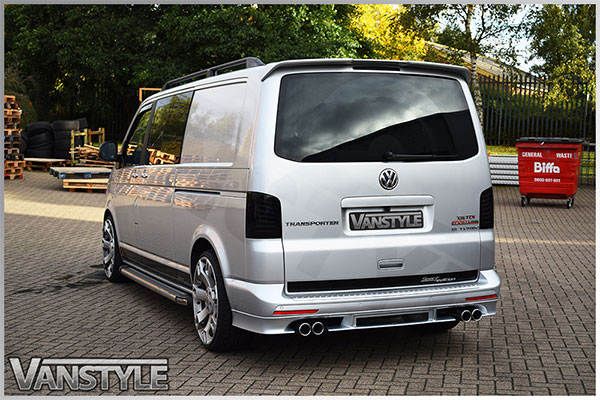 Abt Quad Pipe Exhaust 76mm Vw T5 T6 4motion Vehicles