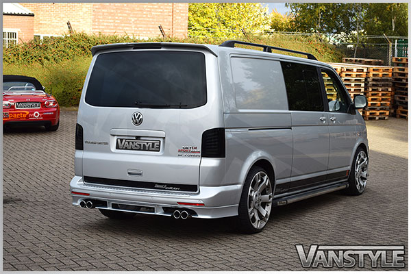 abt quad pipe exhaust 76mm vw t5 t6 fwd vehicles vanstyle. Black Bedroom Furniture Sets. Home Design Ideas