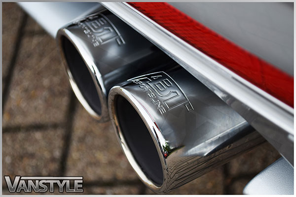 ABT Quad Pipe Exhaust 76mm VW T5 T6 FWD Vehicles