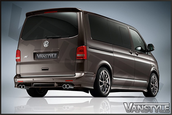 ABT Rear Tailgate Spoiler VW T5 03-09 and 10-15