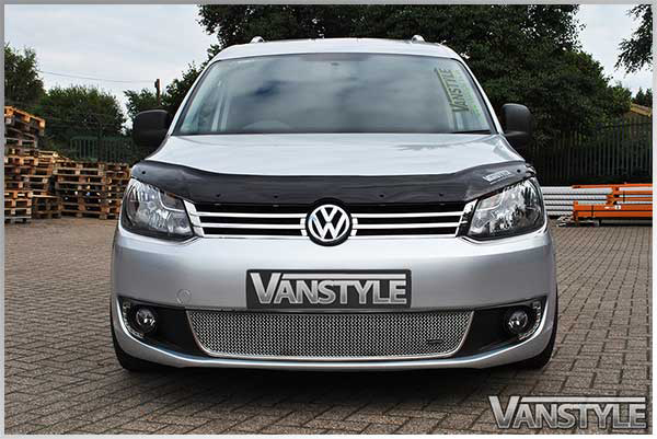 vw caddy maxi 2010 2015 front grille stainless steel mesh zunsport
