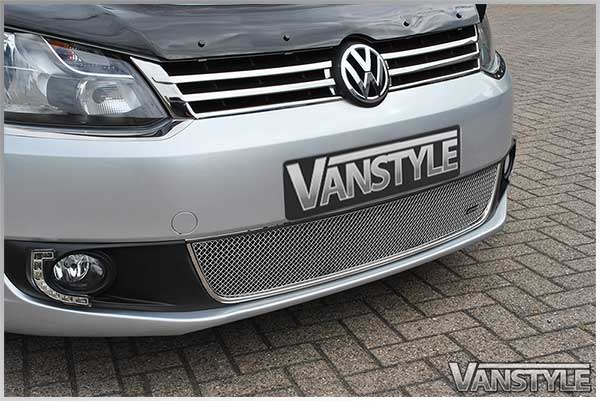 vw caddy maxi chrome front grille 10 15 quality stainless steel
