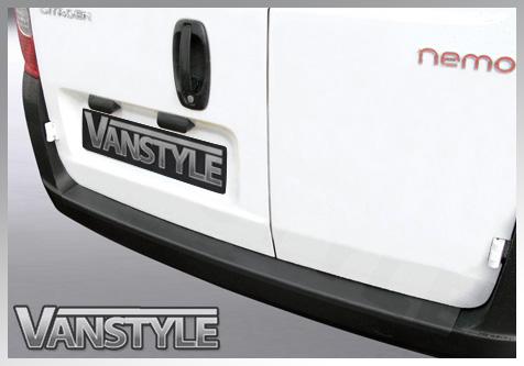 Citroen Nemo / Fiat Fiorino Qubo ABS Rear Bumper Protector 09>